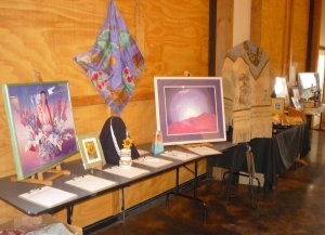 Silent Auction art offerings