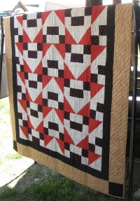 Arrow Head quilt